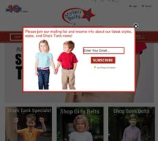 Myself Belts website history
