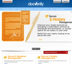 DocVerify website history