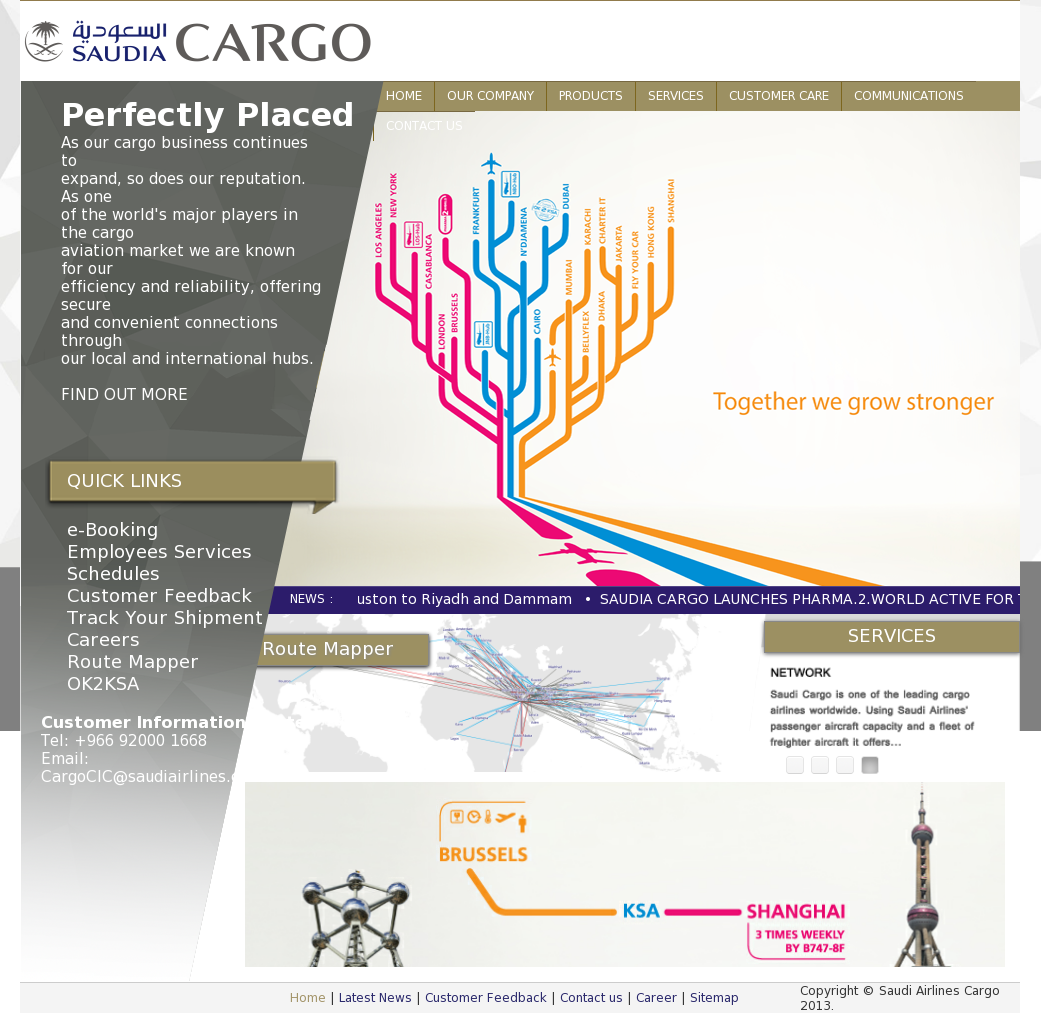 Saudi Airlines Cargo Competitors, Revenue and Employees