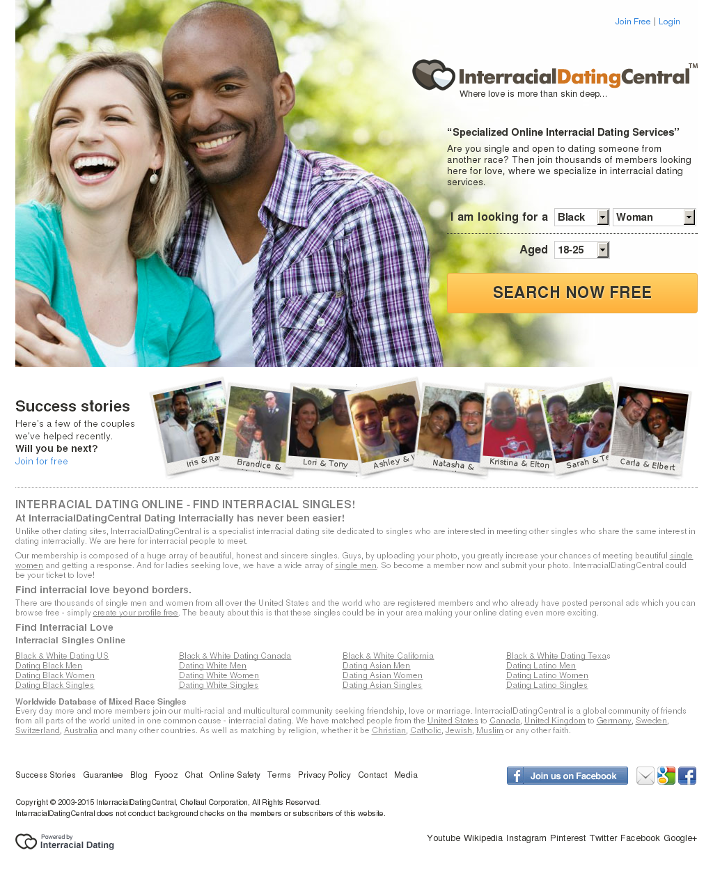 is interracial dating central a good site