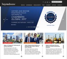 HaynesBoone website history