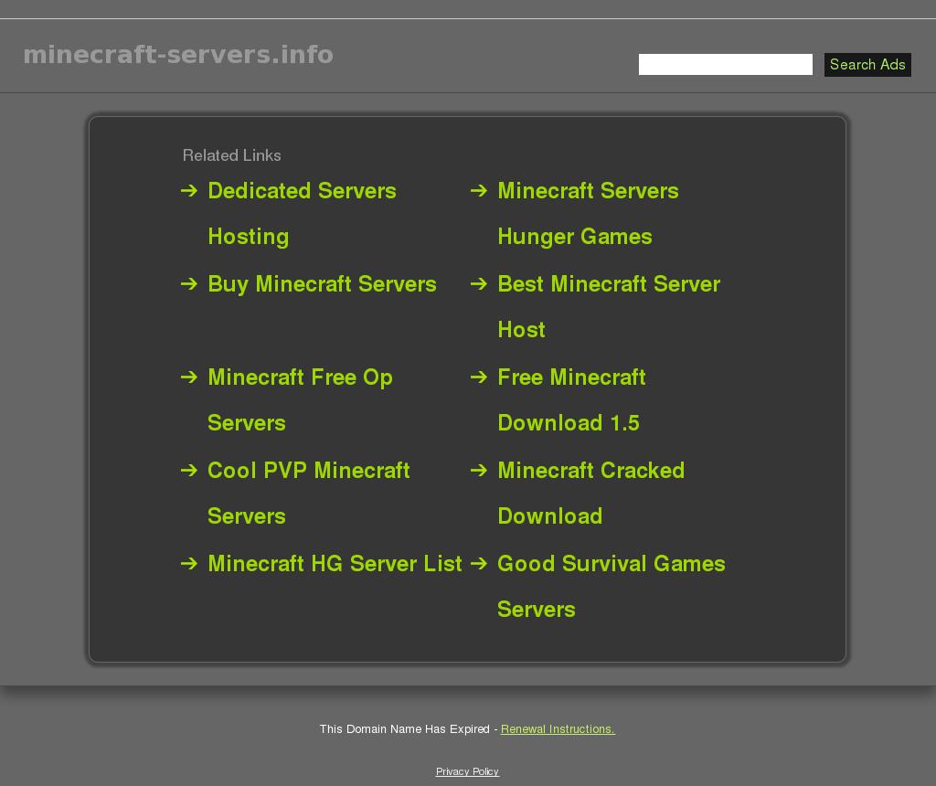 minecraft cracked dating server