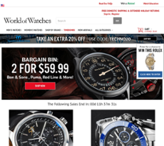 WorldofWatches website history