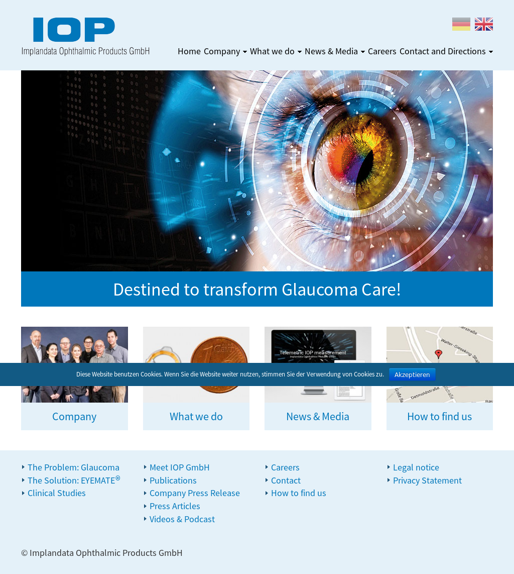 Implandata Ophthalmic Competitors, Revenue and Employees