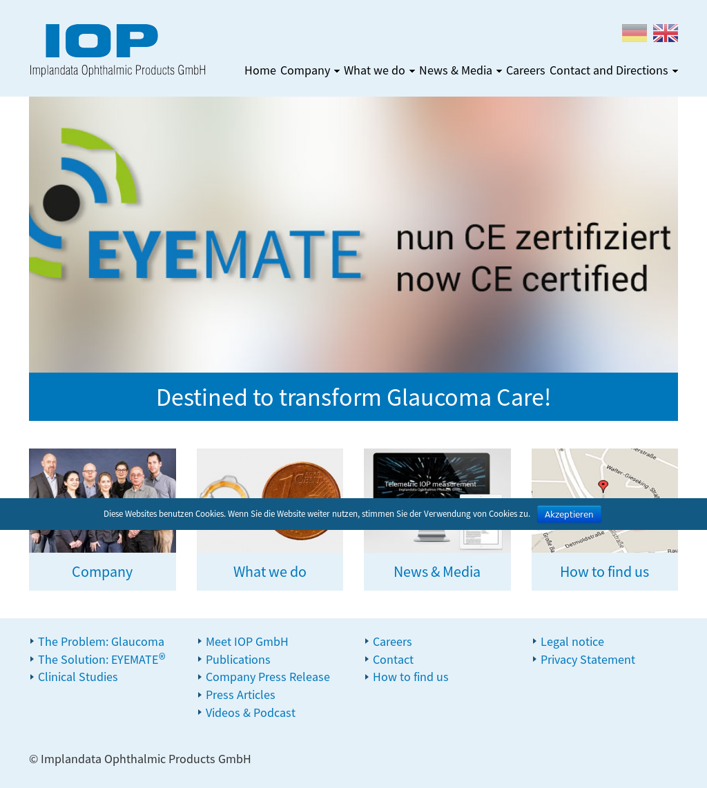 Implandata Ophthalmic Competitors, Revenue and Employees - Owler