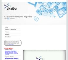 Akaibu website history