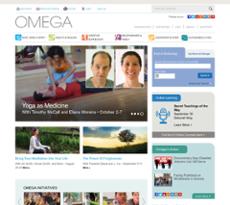 Omega Institute website history