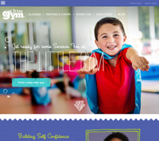 Little Gym website history