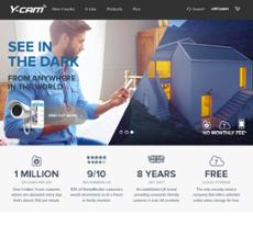 Y-cam website history
