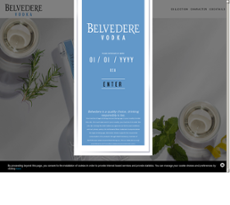 Belvedere website history