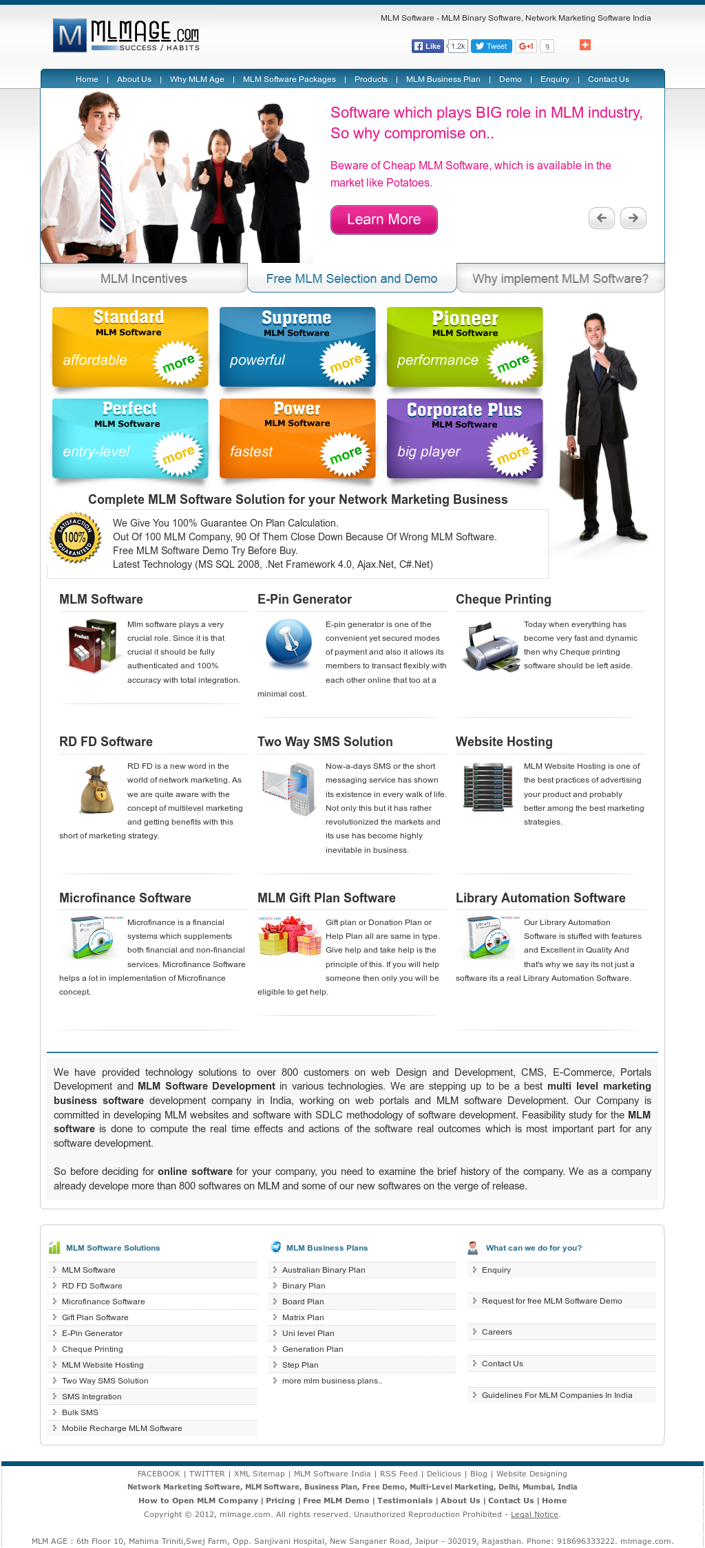 company profile software development pdf