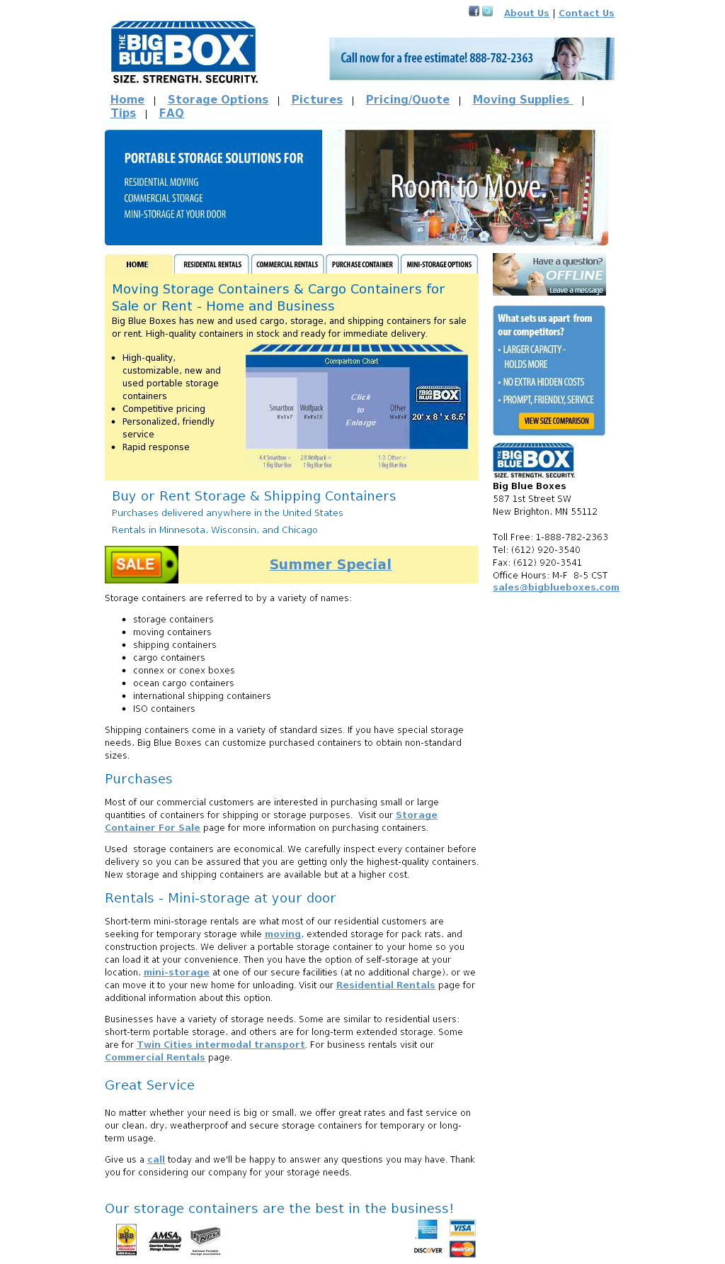 Big Blue Boxes Competitors Revenue and Employees - Owler Company Profile  sc 1 st  Owler & Big Blue Boxes Competitors Revenue and Employees - Owler Company ...