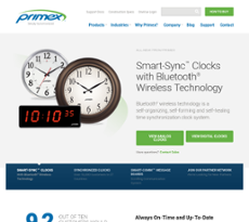 Primex Wireless website history