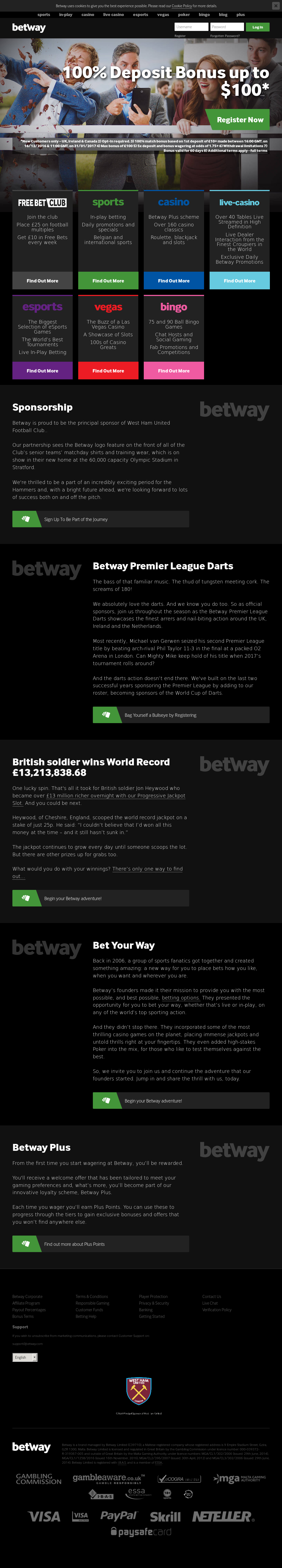 Betway Competitors, Revenue and Employees - Owler Company