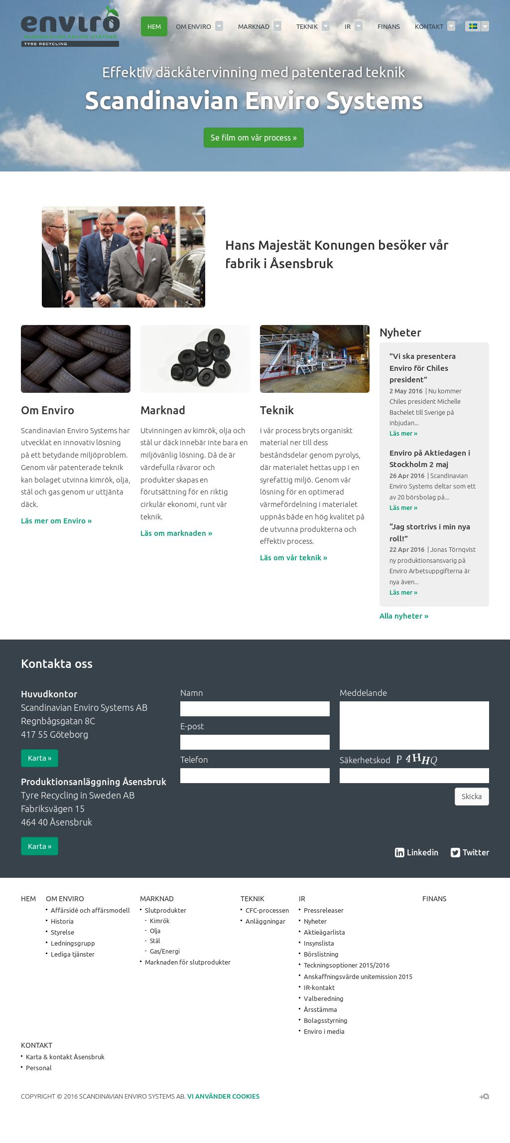 Scandinavian Enviro Systems Competitors, Revenue and