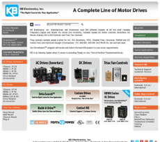 KB Electronics website history