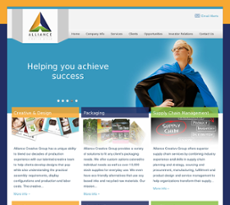 Alliance Creative Group website history