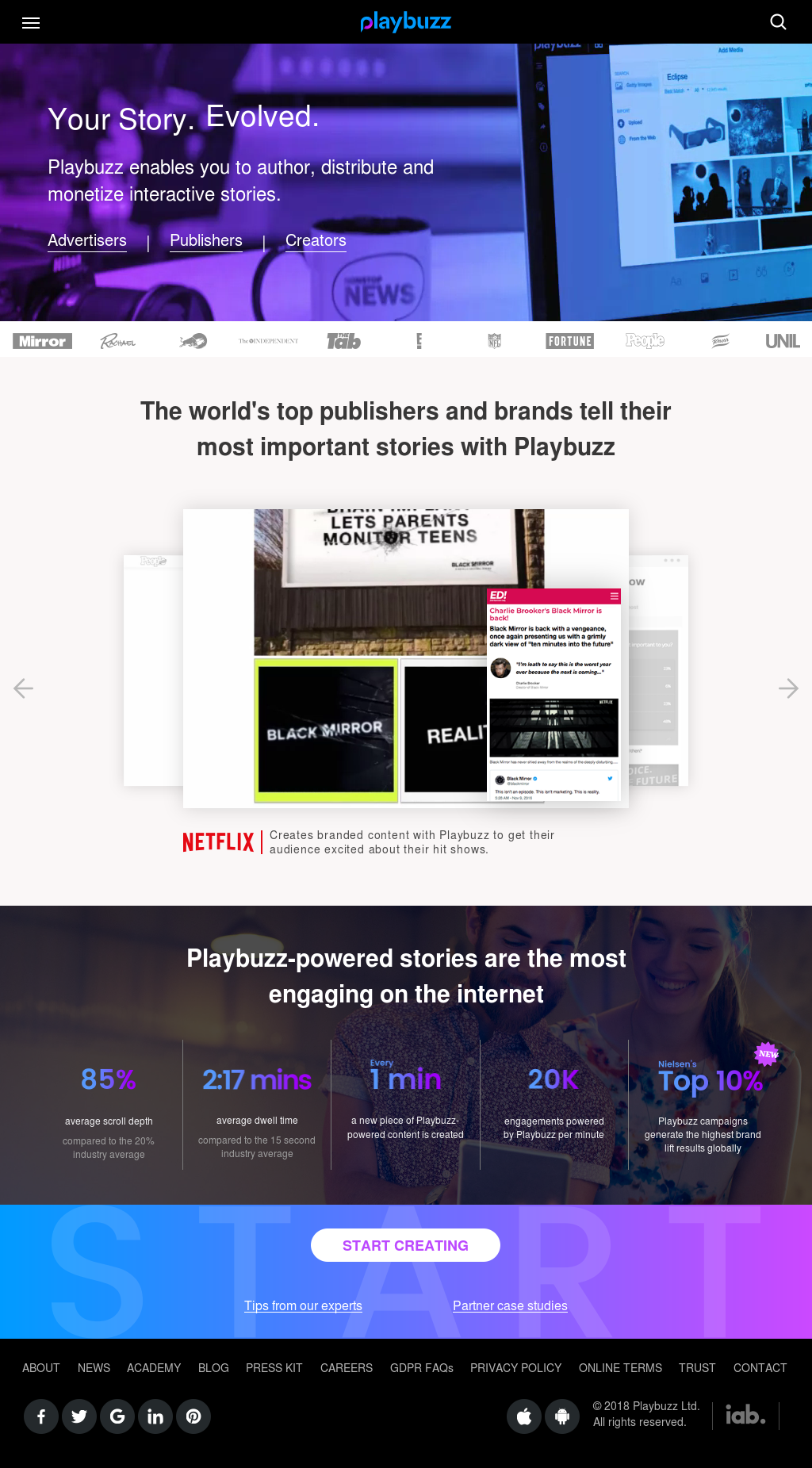 Playbuzz Competitors, Revenue and Employees - Owler Company Profile