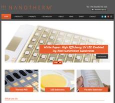 Nanotherm website history