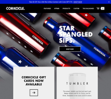 Corkcicle website history