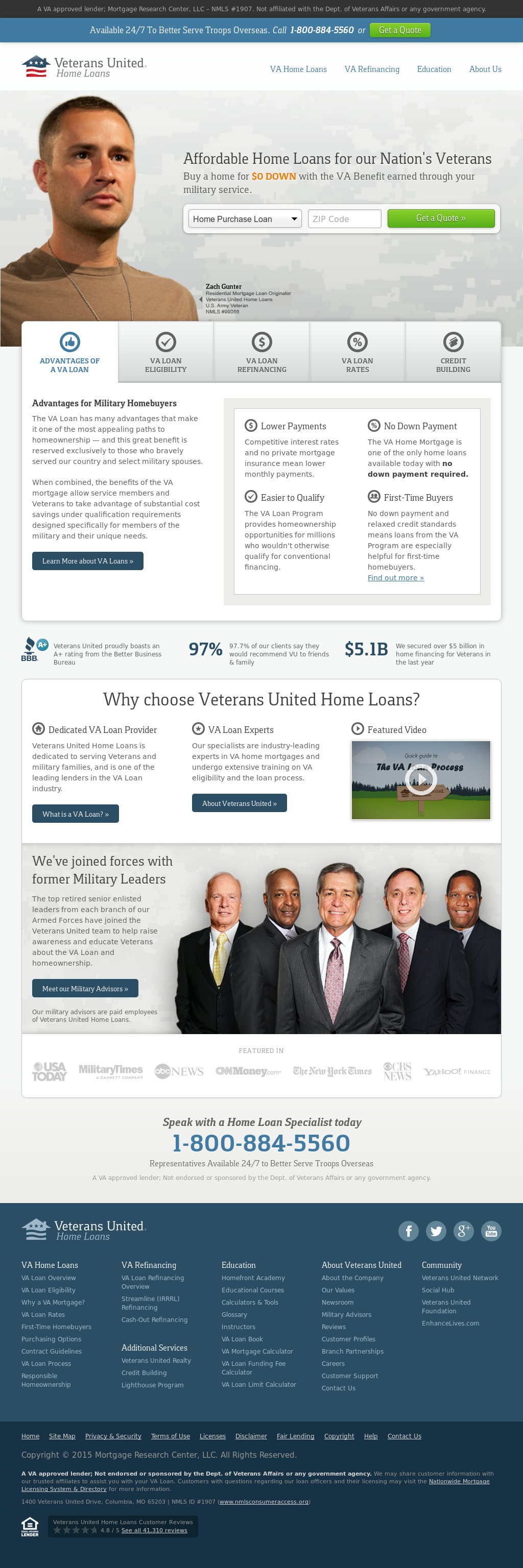 Veterans United Home Loans Competitors Revenue And