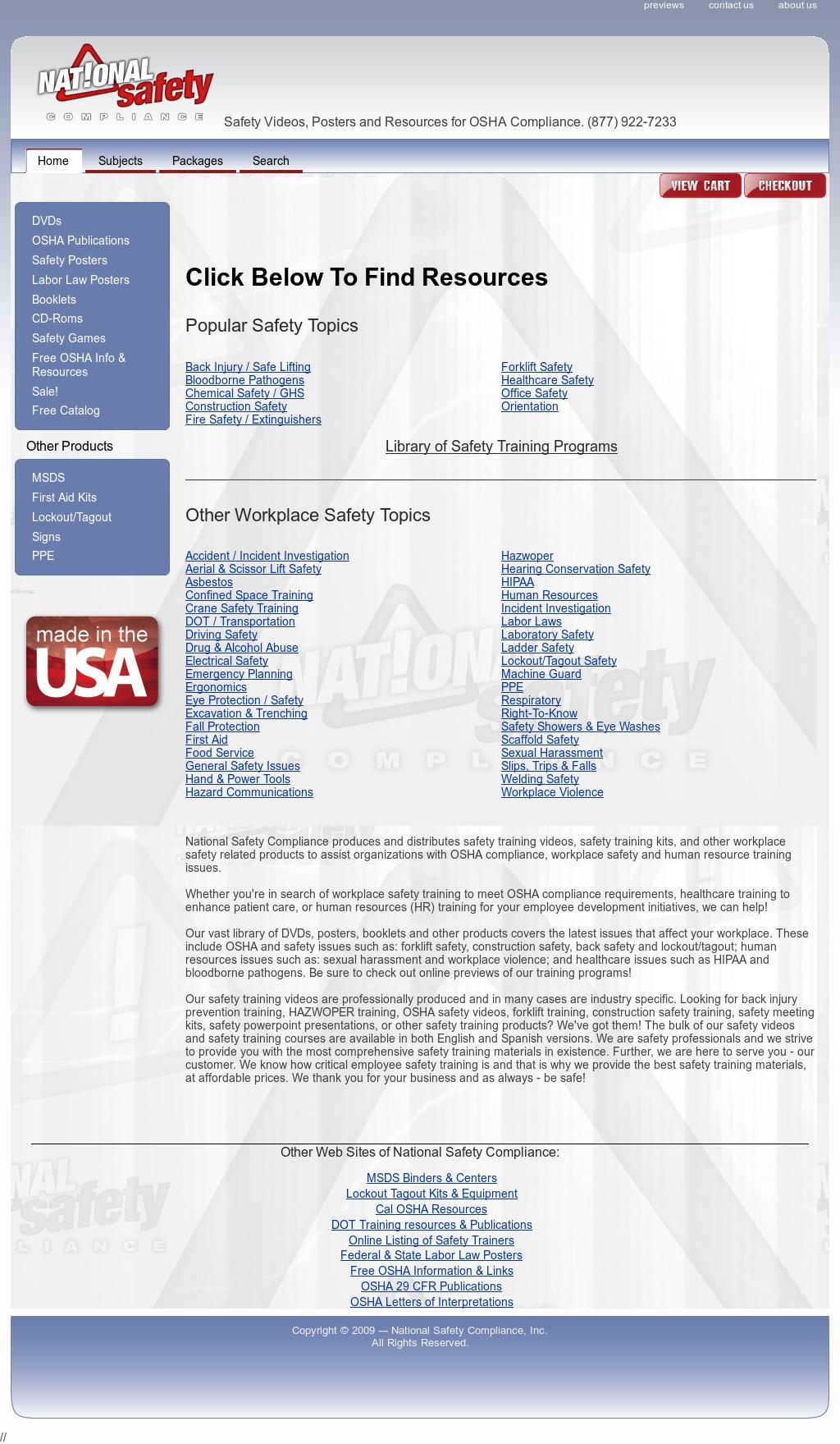 Osha Safety Training Competitors, Revenue and Employees