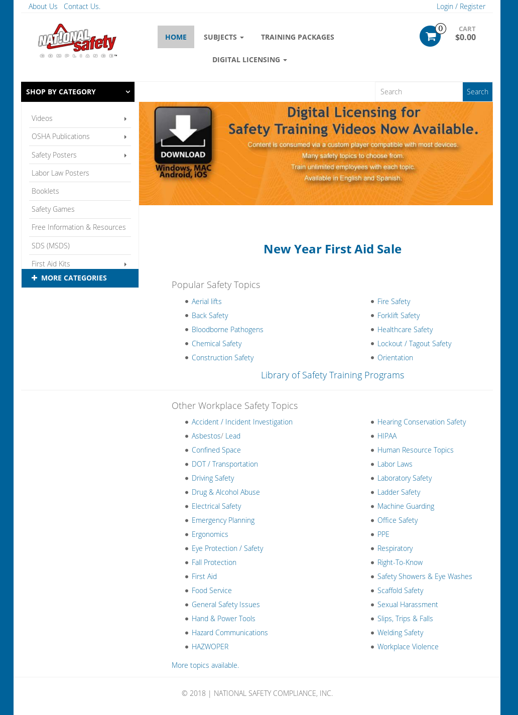 Osha Safety Training Competitors, Revenue and Employees