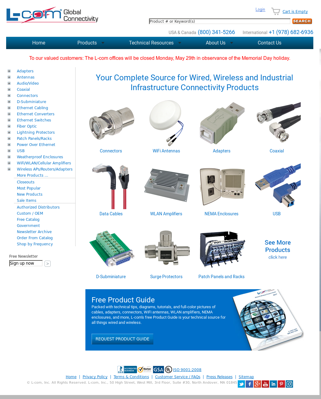 L Com Competitors Revenue And Employees Owler Company Profile Power Over Ethernet Switch Faqs