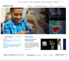 AbbVie website history