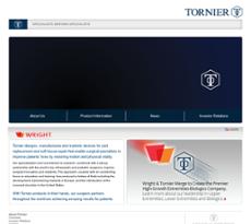 Tornier website history