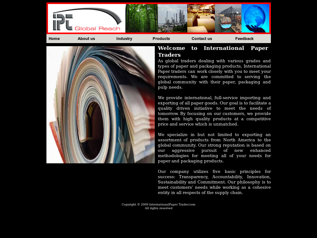 International Paper Trader Competitors, Revenue and