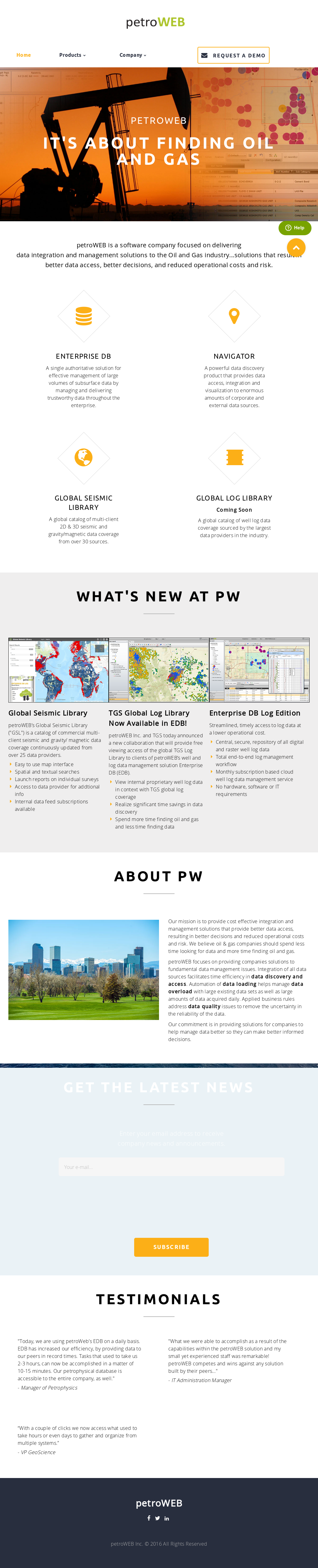 petroWEB Competitors, Revenue and Employees - Owler Company
