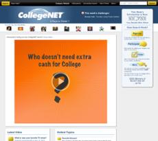CollegeNET website history