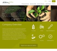 Al Dahra website history