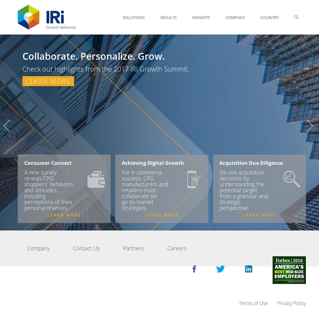 IRI Competitors, Revenue and Employees - Owler Company Profile