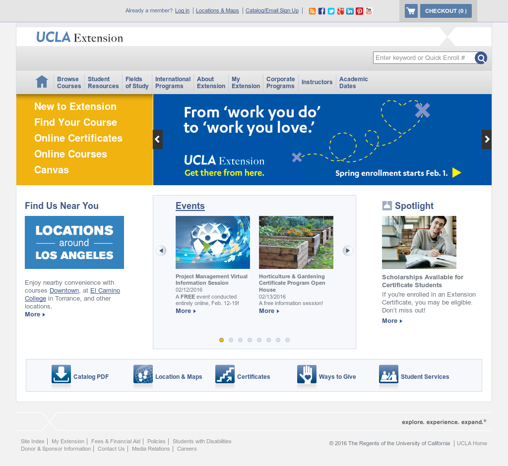 UCLA Extension Competitors, Revenue and Employees - Owler