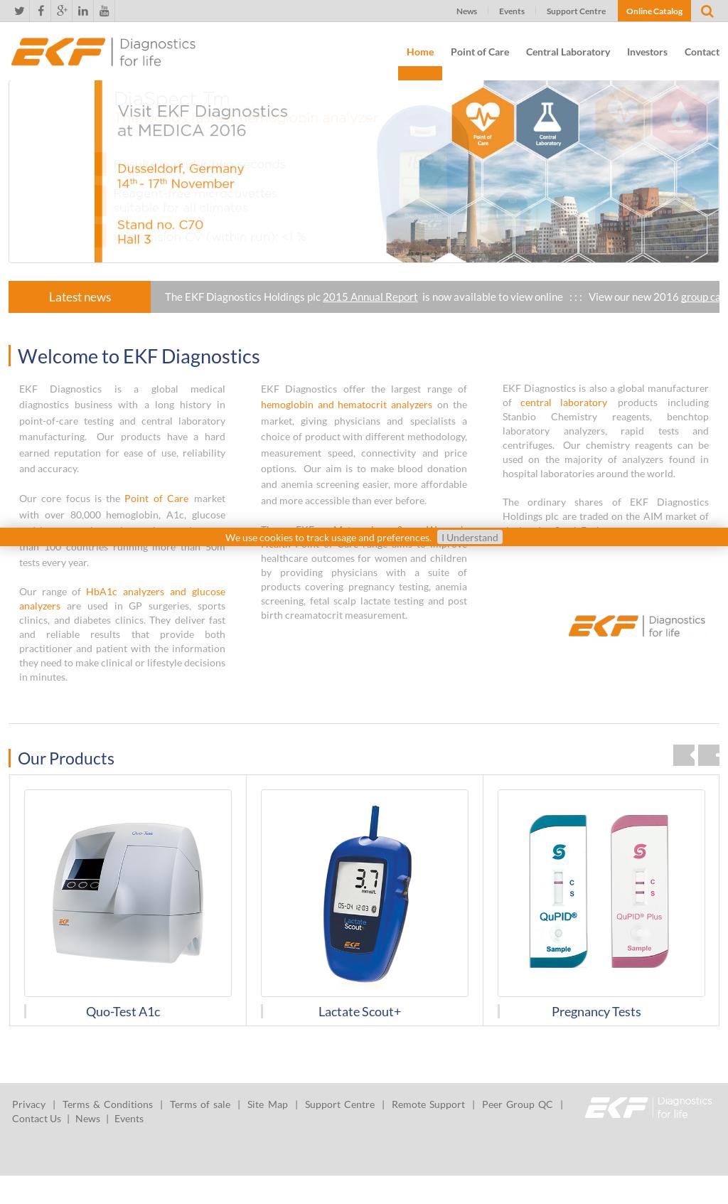 EKF Diagnostics Competitors, Revenue and Employees - Owler