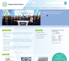Alliance Boots website history