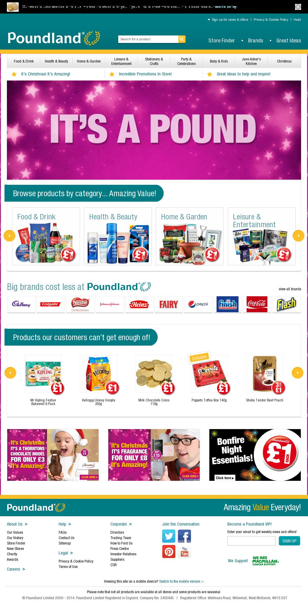 Poundland Competitors, Revenue and Employees - Owler Company Profile