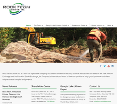 Rock Tech website history
