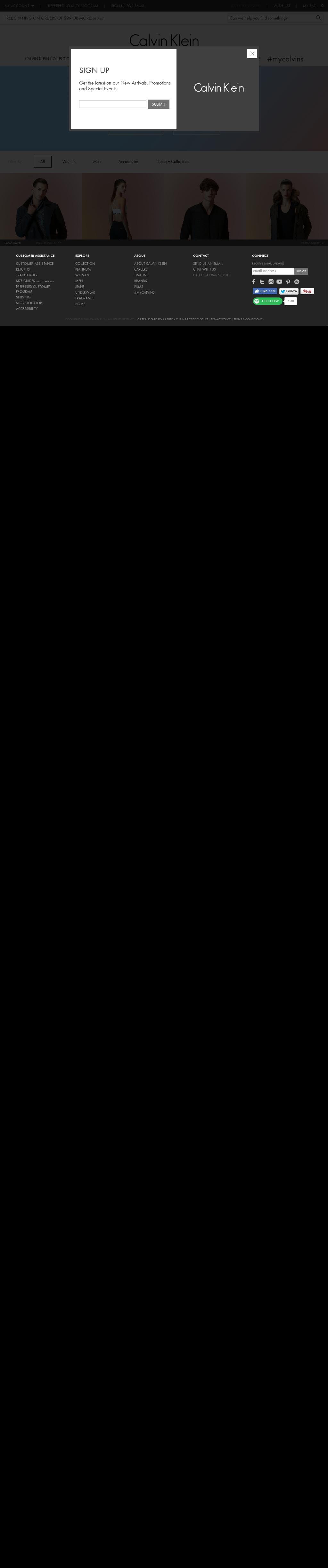 3b965e98dfc Calvin Klein Competitors