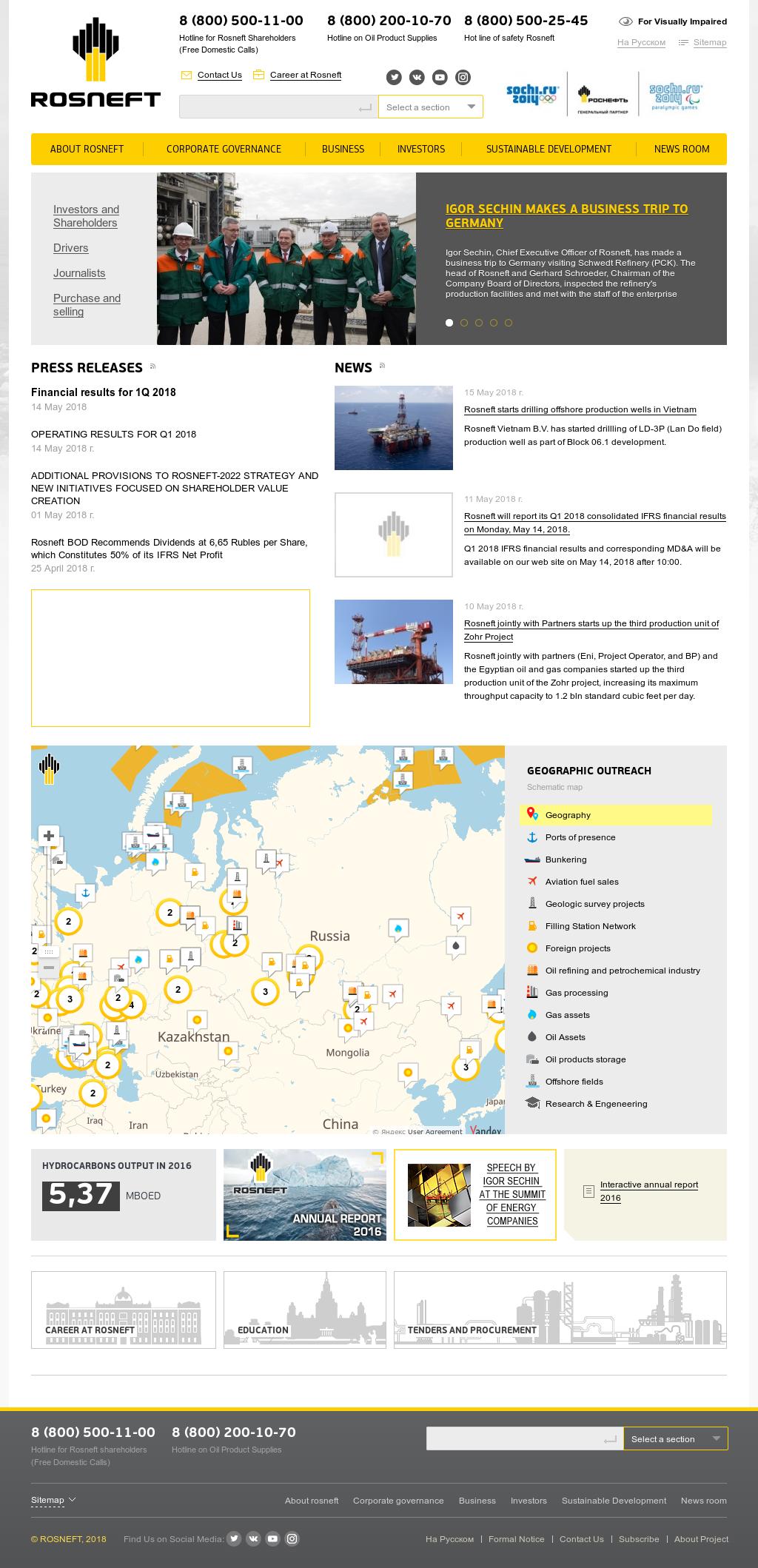 Oil Rosneft: customer reviews 42