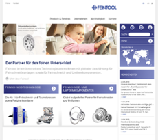 Feintool website history