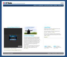 HT Media website history