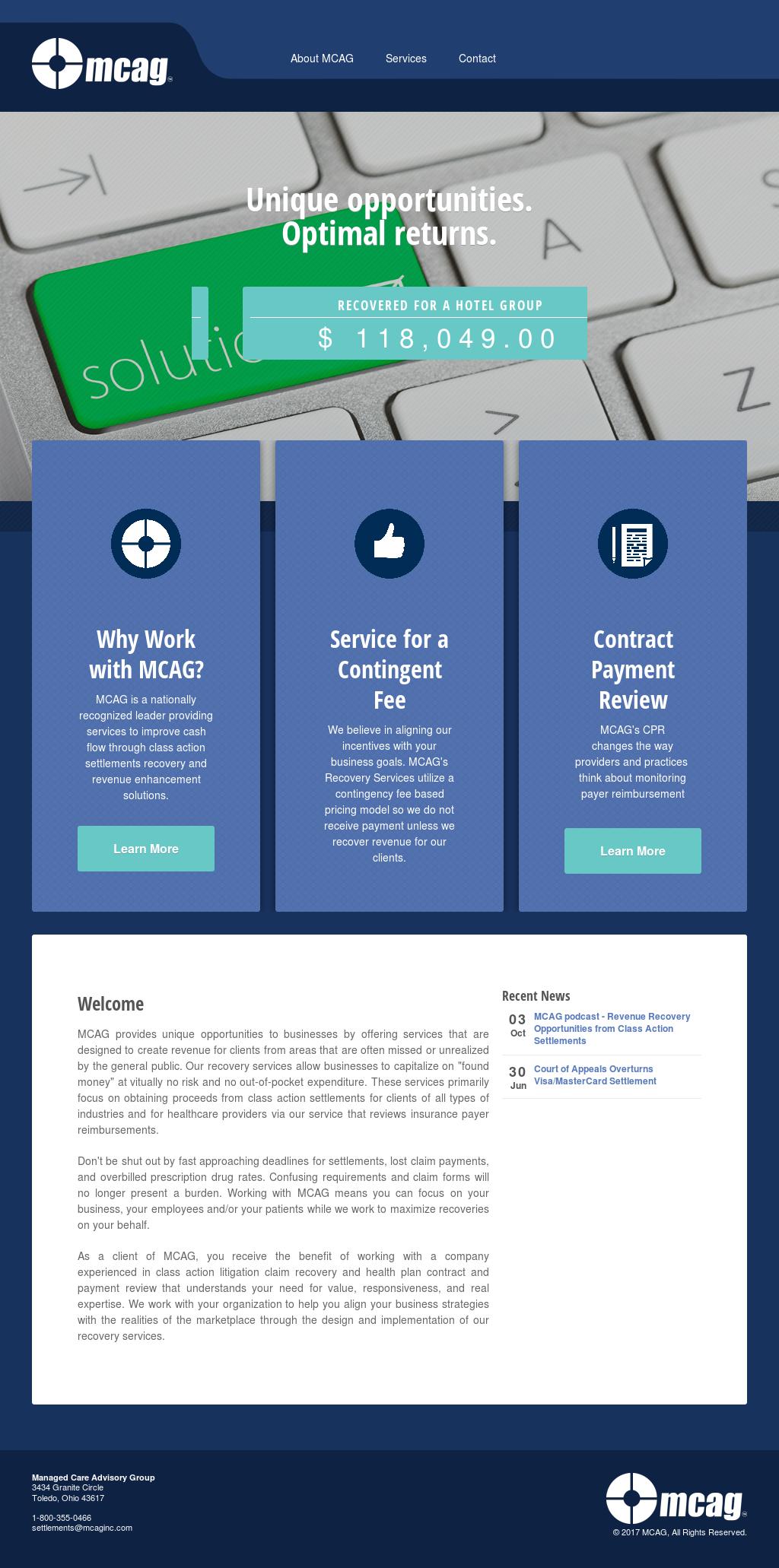 mcaginc competitors revenue and employees owler company profile