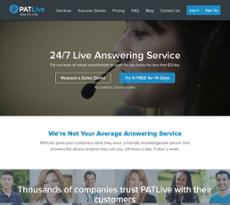 PATLive website history