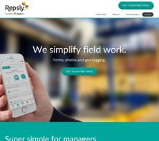 Repsly website history