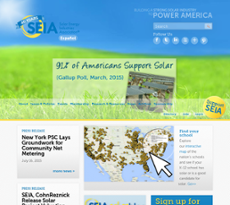 SEIA website history
