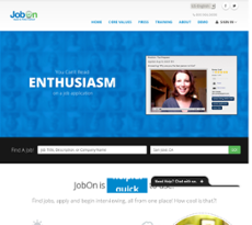 JobOn website history