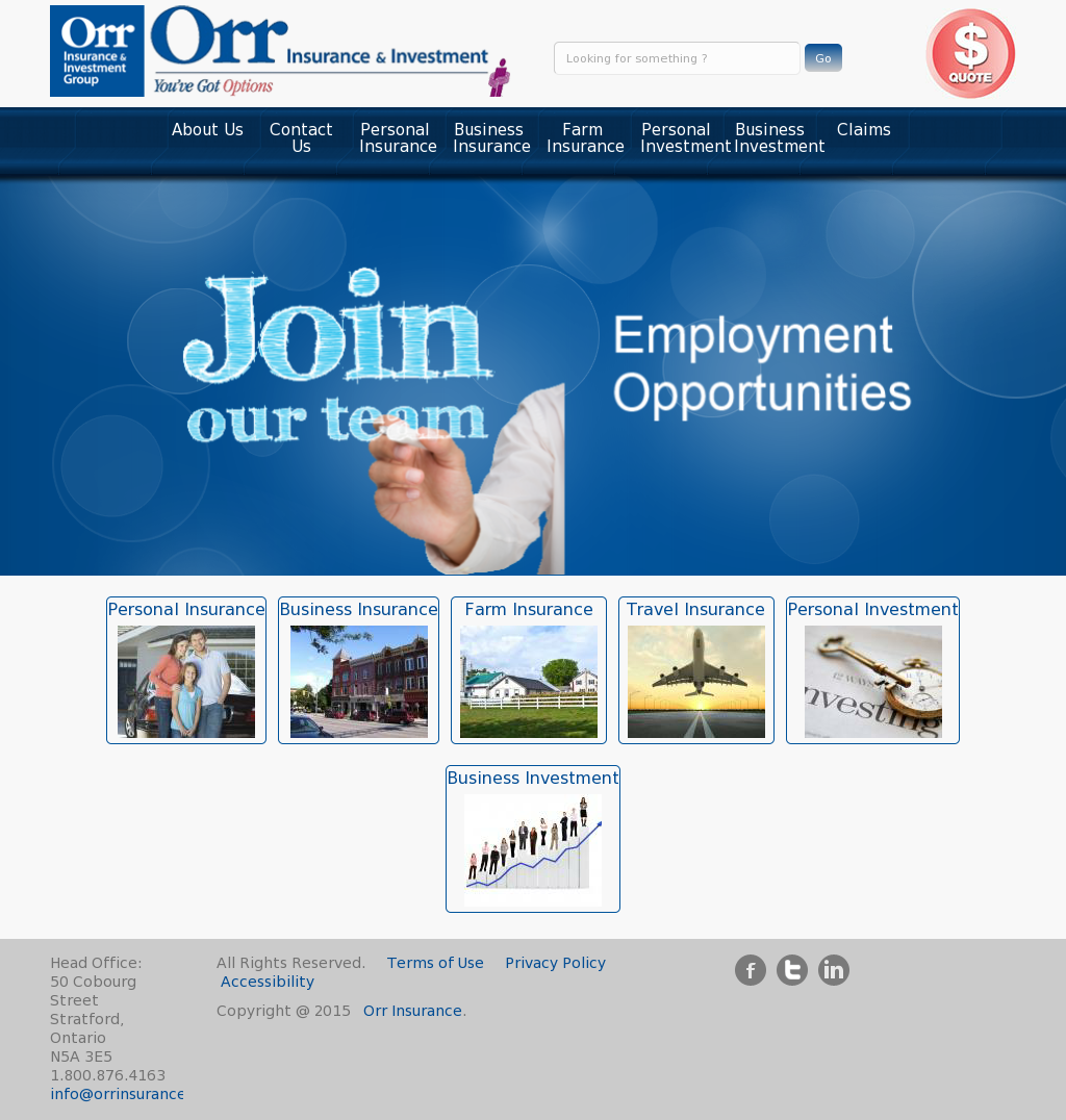 Orr Insurance Competitors, Revenue and Employees - Owler Company Profile